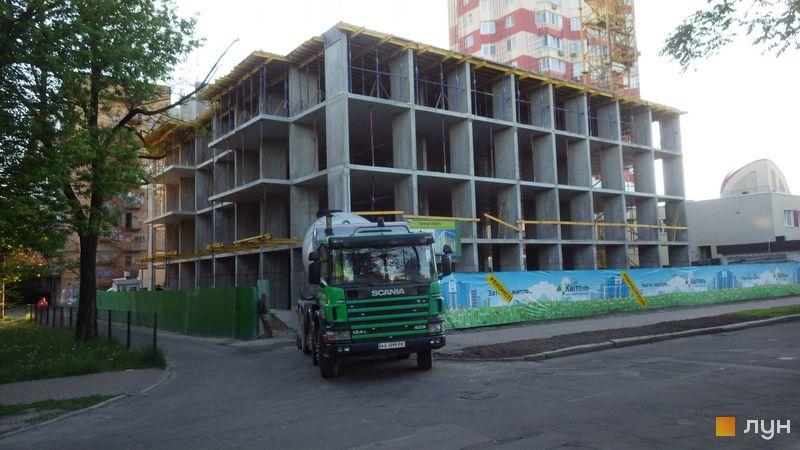 Хід будівництва ЖК Квітень, Будинок, травень 2021