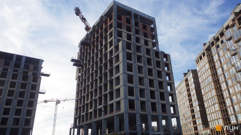 Ход строительства ЖК LUCKY LAND, 4 дом (секция 1), май 2021