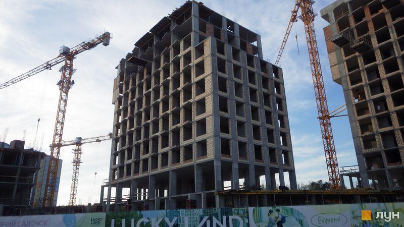 Ход строительства ЖК LUCKY LAND, 4 дом (секция 2), май 2021