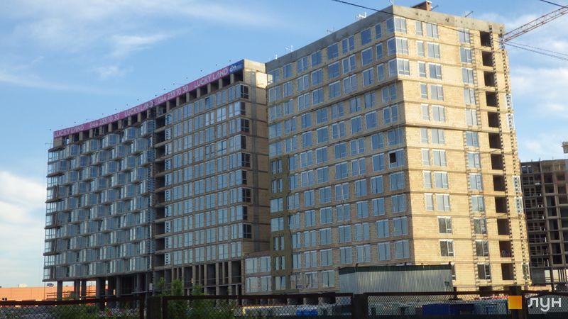 Ход строительства ЖК LUCKY LAND, 3 дом, май 2021