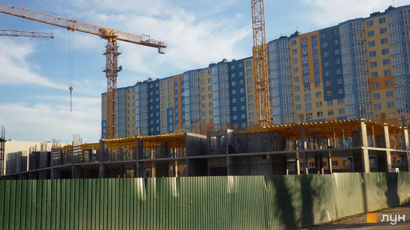 Ход строительства ЖК LUCKY LAND, 6 дом, май 2021
