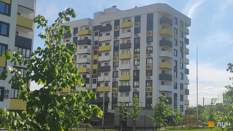 Ход строительства ЖК Банковский 2, 2 дом, май 2021