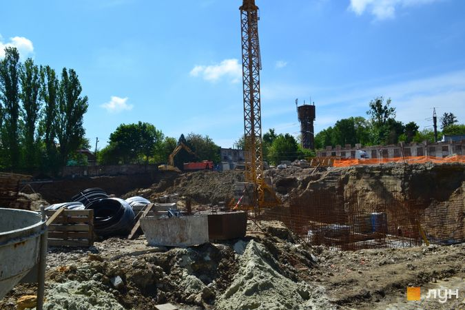 Ход строительства ЖК Парус City, 4 дом, май 2021