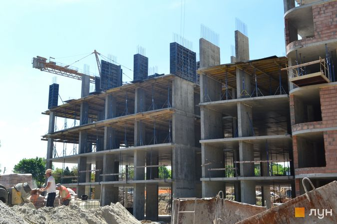 Ход строительства ЖК Парус City, 3 дом, май 2021