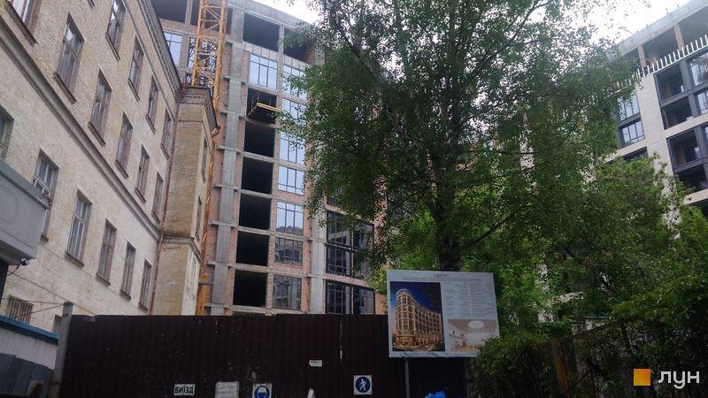 Хід будівництва Linden Luxury Residences, Будинок, травень 2021