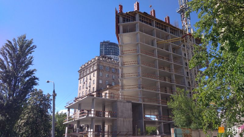 Хід будівництва ЖК Philadelphia Concept House, Будинок, травень 2021