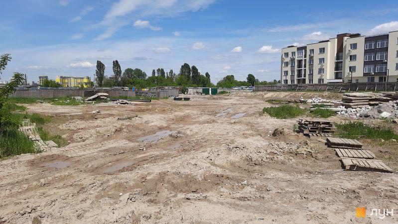Ход строительства ЖК PARKLAND, , май 2021