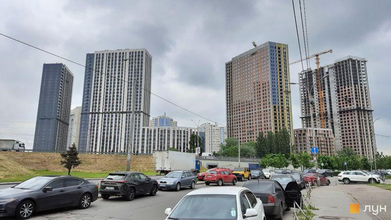 Хід будівництва ЖК Метрополіс, 1-3 будинки, травень 2021