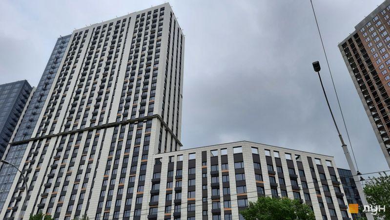 Хід будівництва ЖК Метрополіс, 2 будинок, травень 2021