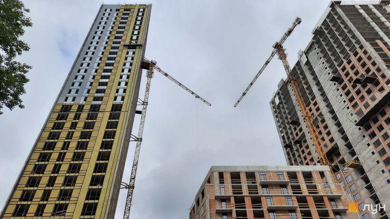 Хід будівництва ЖК Метрополіс, 3 будинок, травень 2021