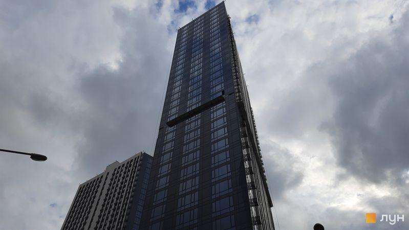 Хід будівництва ЖК Метрополіс, 1 будинок, травень 2021