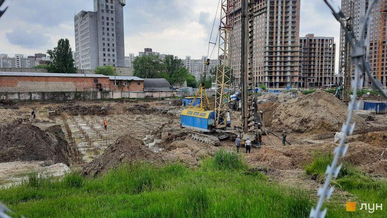 Хід будівництва ЖК Метрополіс, 4 будинок, травень 2021