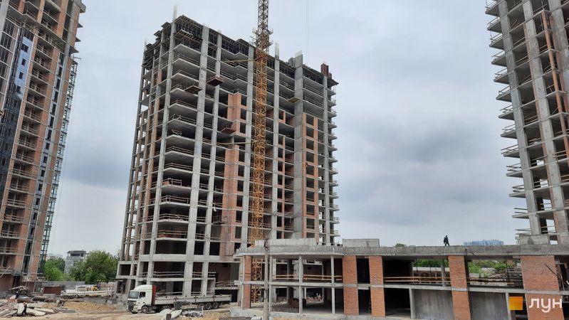 Хід будівництва ЖК Новопечерські Липки, 7 черга (3 будинок), травень 2021