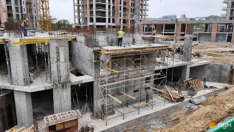 Хід будівництва ЖК Новопечерські Липки, 8 черга, травень 2021