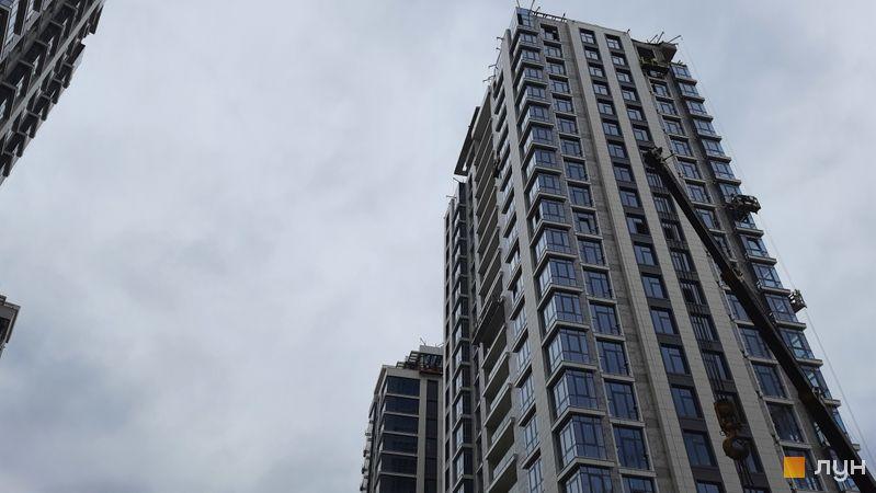 Хід будівництва ЖК Новопечерські Липки, 72.1, 72.2 будинки, травень 2021