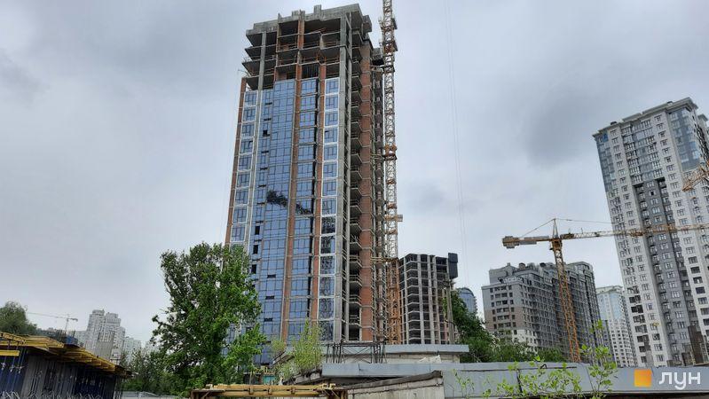 Хід будівництва ЖК Новопечерські Липки, 7 черга (4 будинок), травень 2021