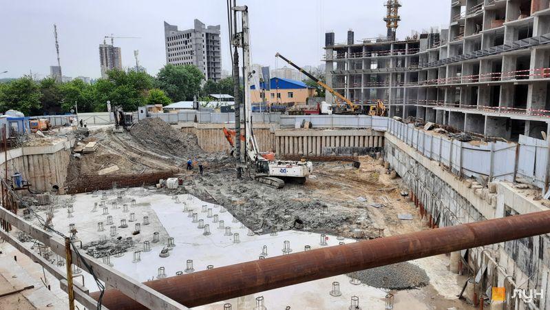 Ход строительства ЖК Delrey, , май 2021