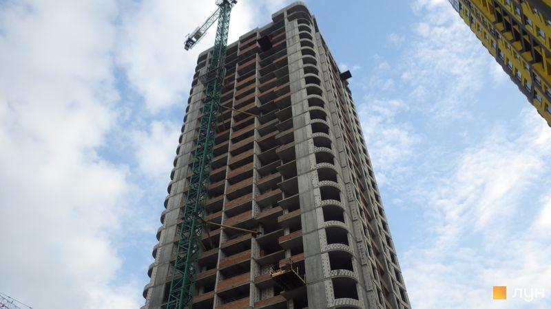 Хід будівництва ЖК Медовий-2, 1 будинок, травень 2021