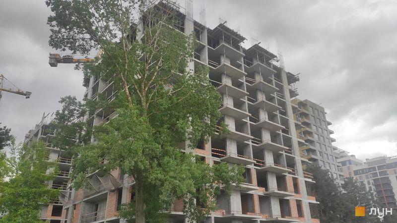 Ход строительства ЖК Krona Park II, 6 дом, май 2021