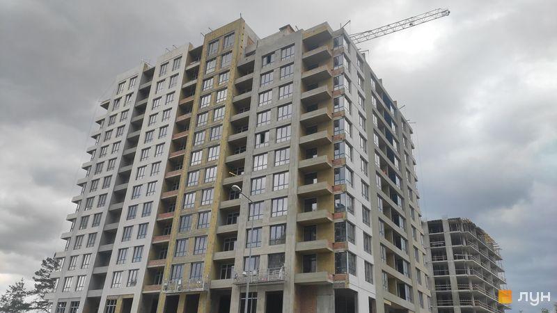 Ход строительства ЖК Krona Park II, 2.1 дом, май 2021