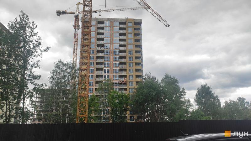 Ход строительства ЖК Krona Park II, 3.2 дом, май 2021