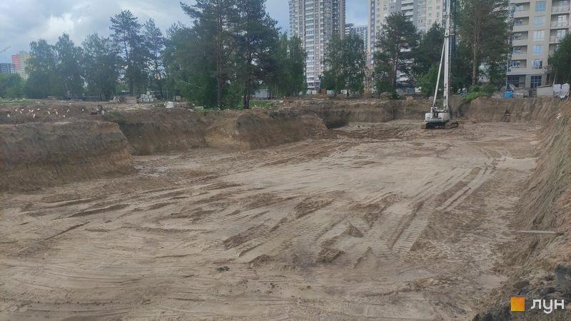 Ход строительства ЖК Krona Park II, 8 дом, май 2021