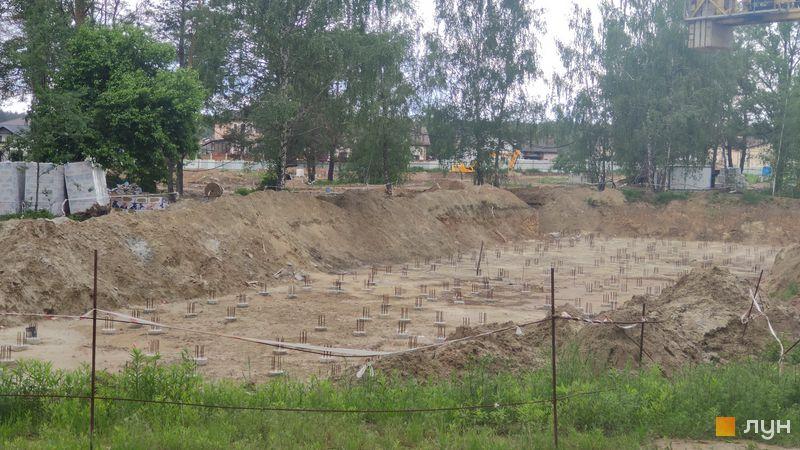 Ход строительства ЖК Krona Park II, 3 дом, май 2021