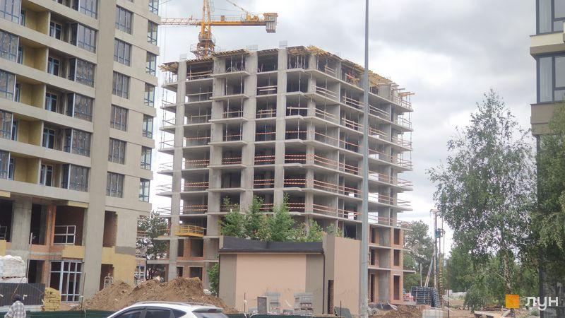 Ход строительства ЖК Krona Park II, 7 дом, май 2021