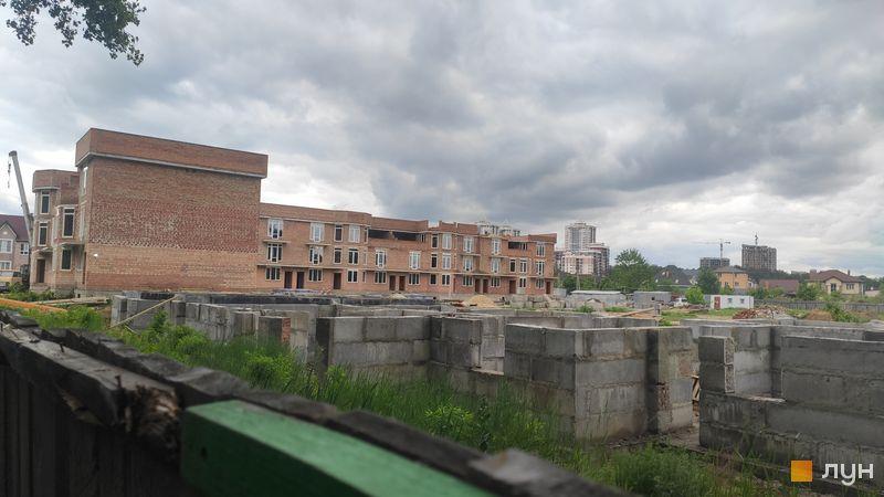 Хід будівництва ЖК Трояндовий, 1 черга (будинок 1), травень 2021