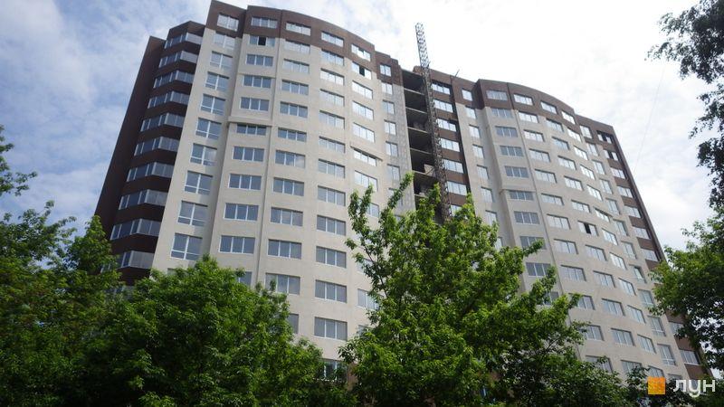 Хід будівництва ЖК POLARIS Home&Plaza, 1 будинок (секції 1.1, 1.2), травень 2021