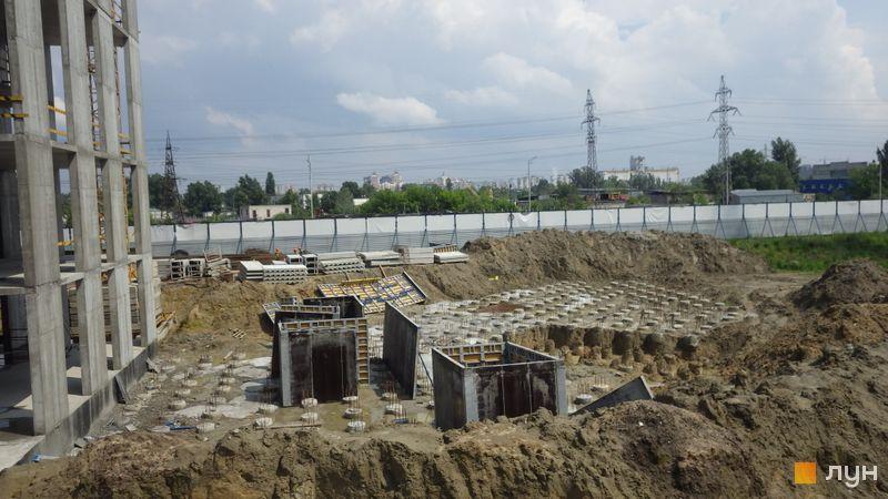 Хід будівництва ЖК POLARIS Home&Plaza, 2 будинок (секція 3.1), травень 2021