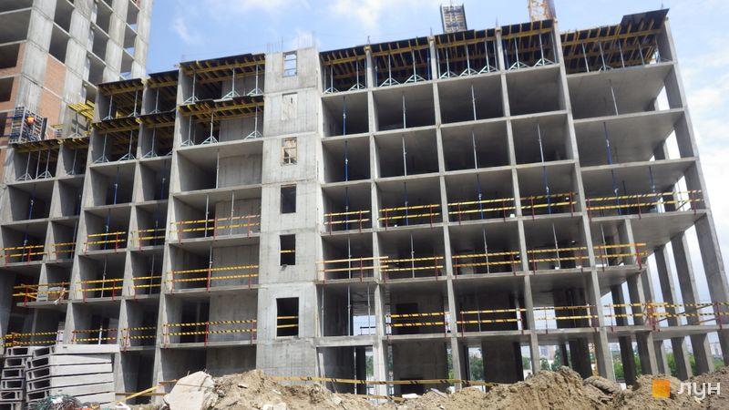 Хід будівництва ЖК POLARIS Home&Plaza, 2 будинок (секція 3.2), травень 2021