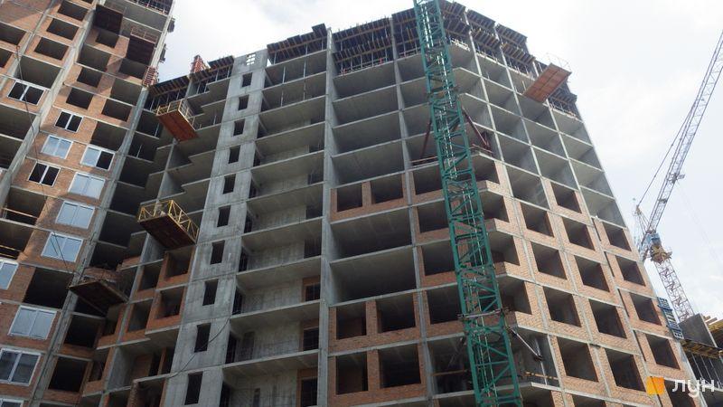 Хід будівництва ЖК POLARIS Home&Plaza, 2 будинок (секція 3.3), травень 2021