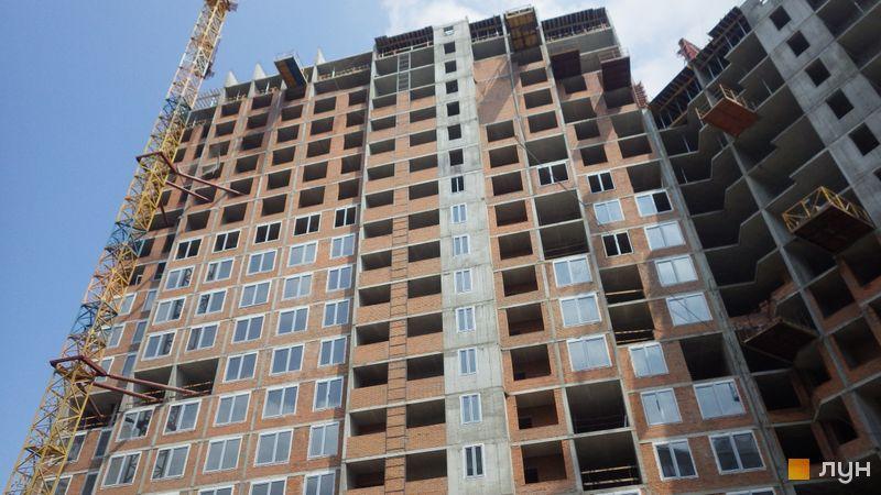Хід будівництва ЖК POLARIS Home&Plaza, 2 будинок (секція 4.1), травень 2021