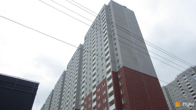 Ход строительства ЖК Navigator, 4 дом, май 2021