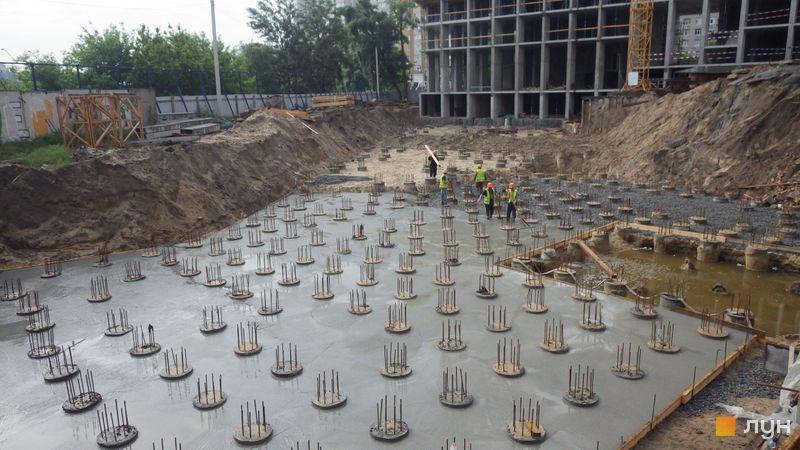 Хід будівництва ЖК Rusaniv Residence, 1 секція, травень 2021