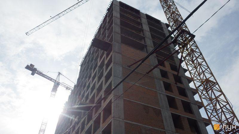 Хід будівництва ЖК Rusaniv Residence, 4 секція, травень 2021