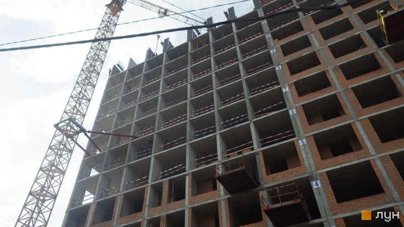 Хід будівництва ЖК Rusaniv Residence, 3 секція, травень 2021