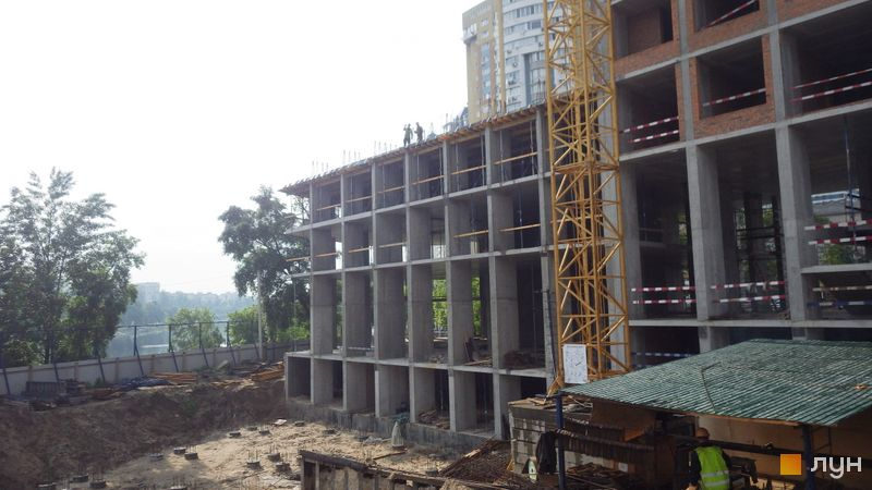 Хід будівництва ЖК Rusaniv Residence, 2 секція, травень 2021