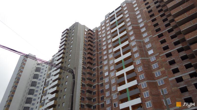 Хід будівництва ЖК Голосіївська Долина, 1 будинок (секції 1-4), травень 2021