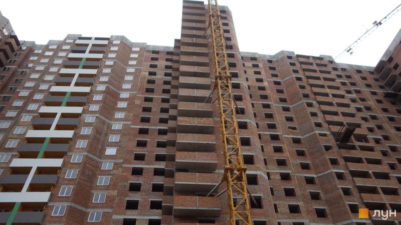 Хід будівництва ЖК Голосіївська Долина, 1 будинок (секція 5), травень 2021