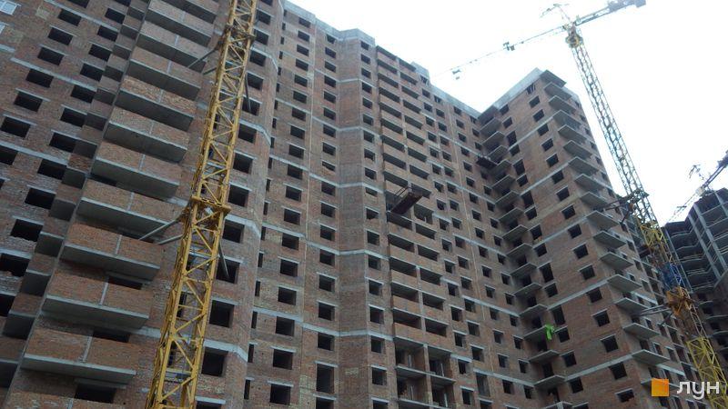 Хід будівництва ЖК Голосіївська Долина, 1 будинок (секція 6), травень 2021