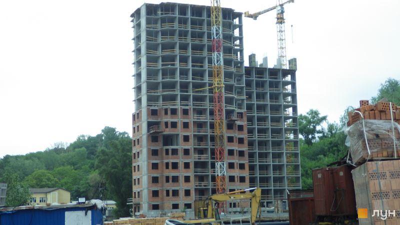 Хід будівництва ЖК Голосіївська Долина, 2 будинок  (секції 1-2), травень 2021
