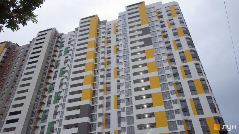 Хід будівництва ЖК Голосіївська Долина, 1 будинок (секції 1-3), травень 2021