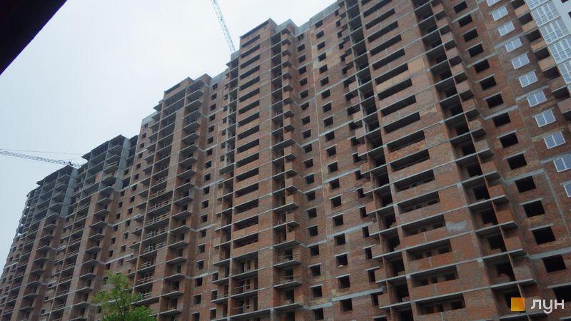 Хід будівництва ЖК Голосіївська Долина, 1 будинок (секції 6, 7), травень 2021