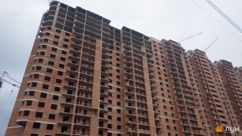 Хід будівництва ЖК Голосіївська Долина, 1 будинок (секції 7-9), травень 2021