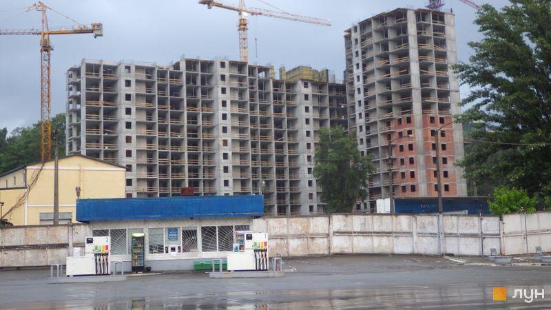 Хід будівництва ЖК Голосіївська Долина, 2 будинок, травень 2021