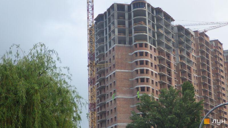 Хід будівництва ЖК Голосіївська Долина, 1 будинок (секція 9), травень 2021