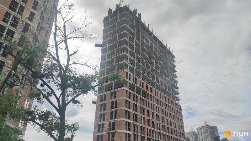 Ход строительства ЖК Madison Gardens, 3 дом, май 2021