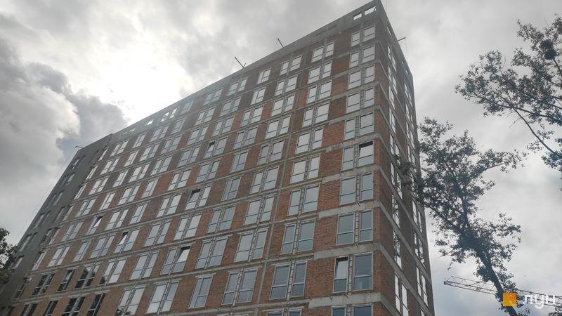 Ход строительства ЖК Madison Gardens, 1 дом, май 2021